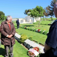 In Loving Memory - Special Wreath Laying Ceremony for Tour Participants