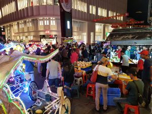 Night market in Jonker Street, Malacca