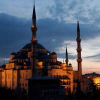 Blue Mosque Night